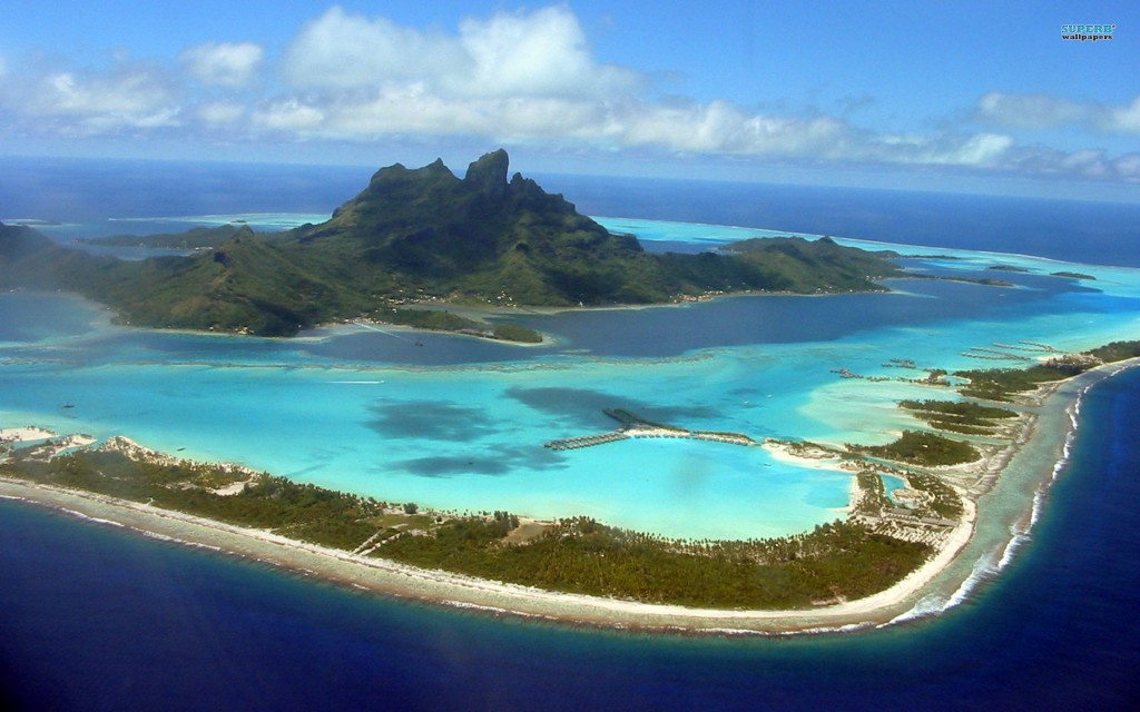Vista de Bora Bora