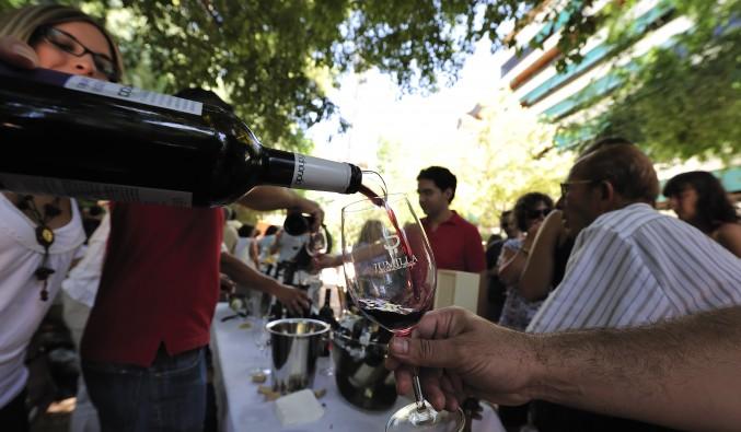 Mini-feria del Vino