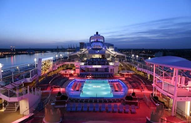 Imagen de la Cubierta del barco Anthem of the Seas
