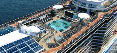 Imagen de la Cubierta del barco Quantum of the Seas