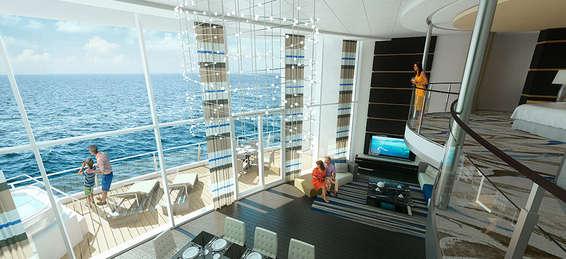 Imagen de un Loft del barco Quantum of the Seas