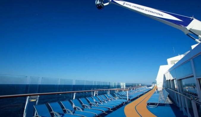 Imagen de la Pista de Jogging y North Star del barco Quantum of the Seas