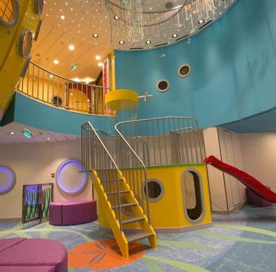 Imagen de una Zona infantil del barco Quantum of the Seas