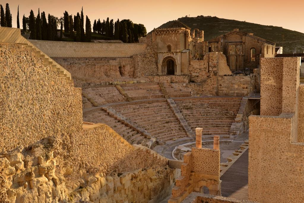 Teatro Romano de Cartagena. Foto J.Zamora