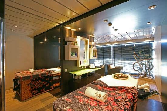 Imagen del Aurea Spa del barco MSC Fantasia