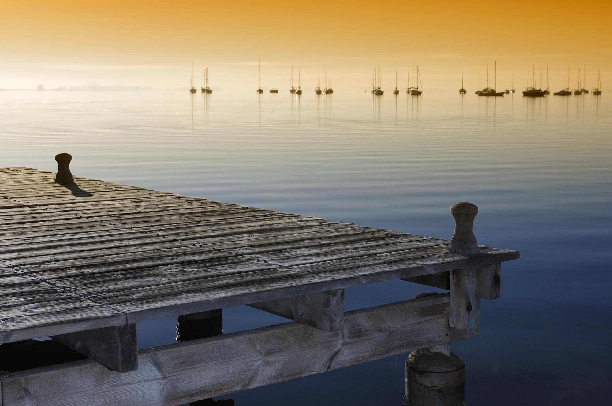 Mar menor (穆尔西亚自治区潟湖,摄影师:Joaquín Zamora)