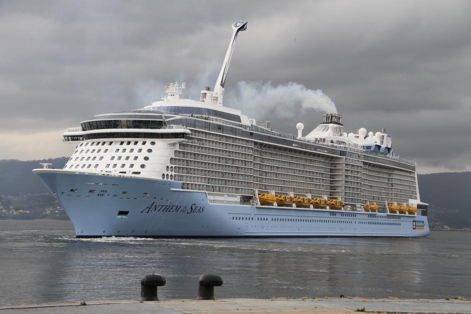 1 5 millones de turistas en el puerto de vigo en 5 a os - Puerto de vigo cruceros ...