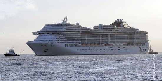 Barco de Cruceros MSC Preziosa