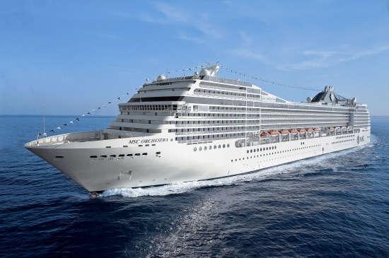 Barco Msc Orchestra de MSC Cruceros