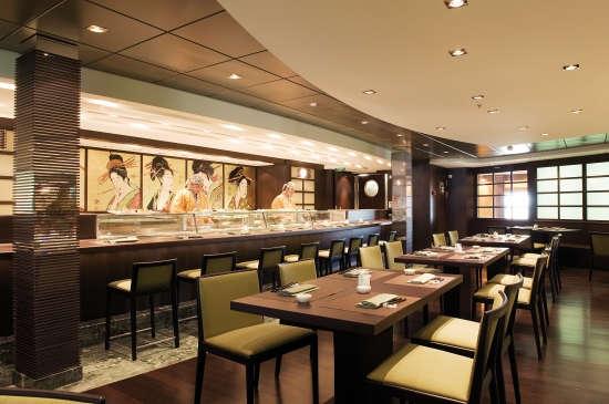 Imagen del Kaito Sushi Bar del MSC Poesia de MSC Cruceros