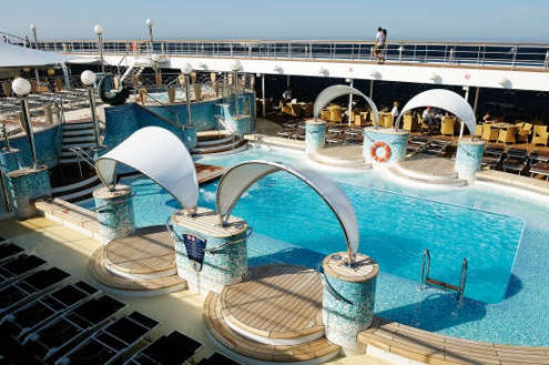 Imagen de la Piscina del MSC Poesia de MSC Cruceros