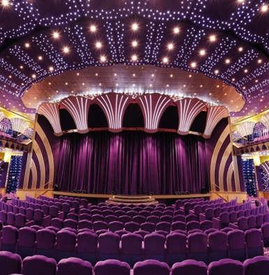 Imagen del Teatro Carlo Felice del MSC Poesia de MSC Cruceros