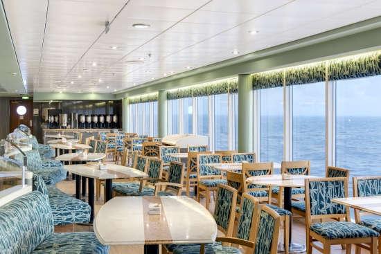 Imagen del Buffet Brasserie a bordo del barco Msc Armonia