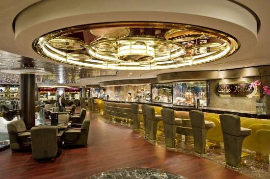 Imagen del Caffeé Italia Galaxy del barco MSC Divina