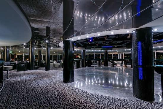 Imagen de la Discoteca Starlight  a bordo del barco Msc Armonia