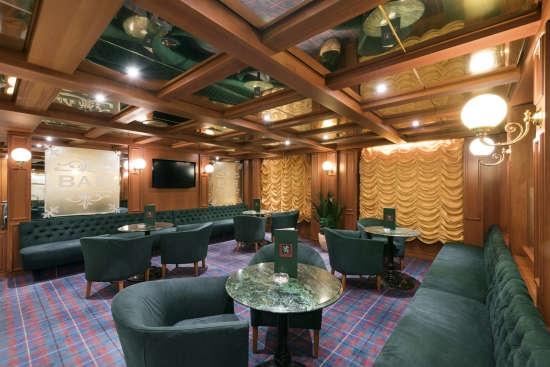 Imagen del salón White Lion a bordo del barco Msc Armonia