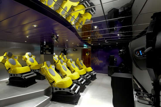 Imagen del Cine 4D del barco MSC Magnifica