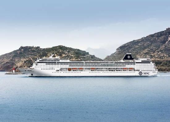 Barco de cruceros MSC Sinfonia