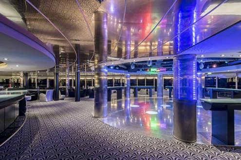 Imagen de la Discoteca del barco MSC Sinfonia