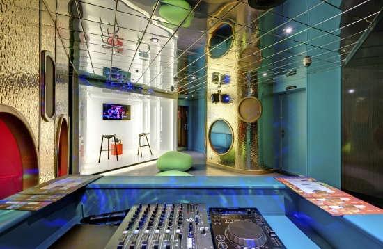 Imagen de una Zona Infantil del barco MSC Sinfonia