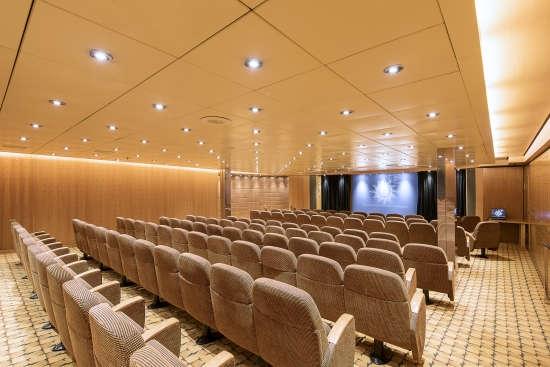 Imagen del Centro de Negocios del barco MSC Sinfonia