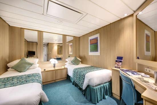 Imagen de un Camarote Interior del barco MSC Sinfonia