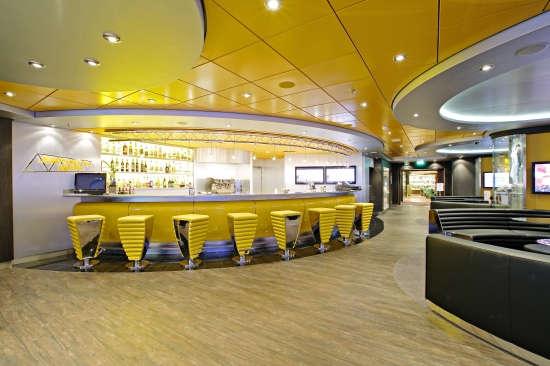 Imagen del Bar de deportes del barco MSC Splendida