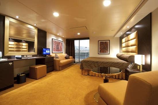 Imagen de un Camarote Exterior del barco MSC Splendida