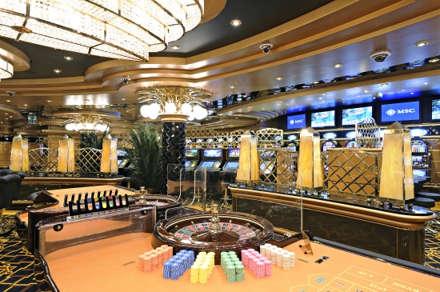 Imagen del Casino Royal Palm del barco MSC Splendida
