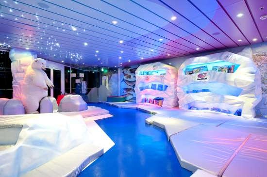 Imagen del Polo Norte del barco MSC Splendida