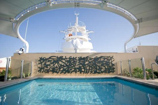 Imagen de la Piscina del barco MSC Splendida