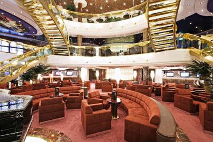Imagen de la Recepción del barco MSC Splendida