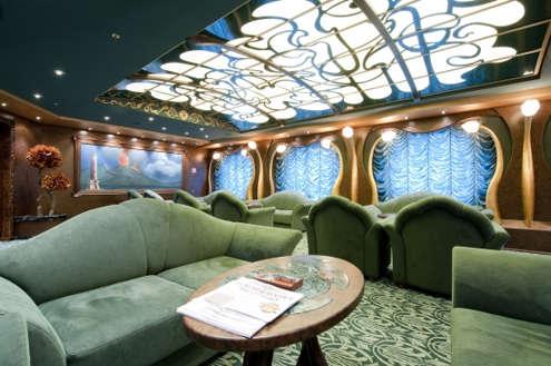 Imagen de la Sala de Fumadores del barco MSC Splendida