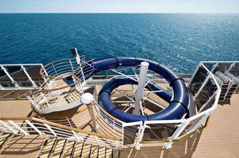 Imagen del Tobogán del barco MSC Splendida