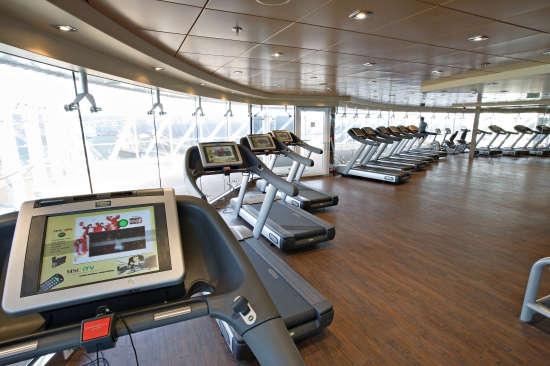 Imagen del Fitness Center del barco MSC Splendida