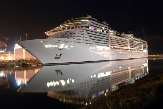 Barco de cruceros MSC Splendida