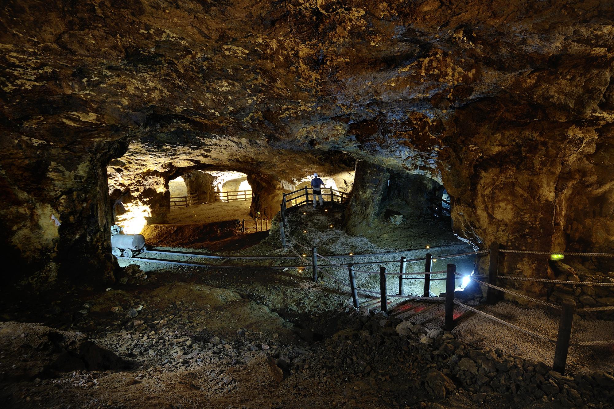 Vista de las Minas de La Unión. Foto J. Zamora