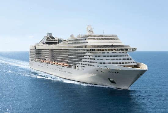 Barco MSC Fantasia de MSC Cruceros