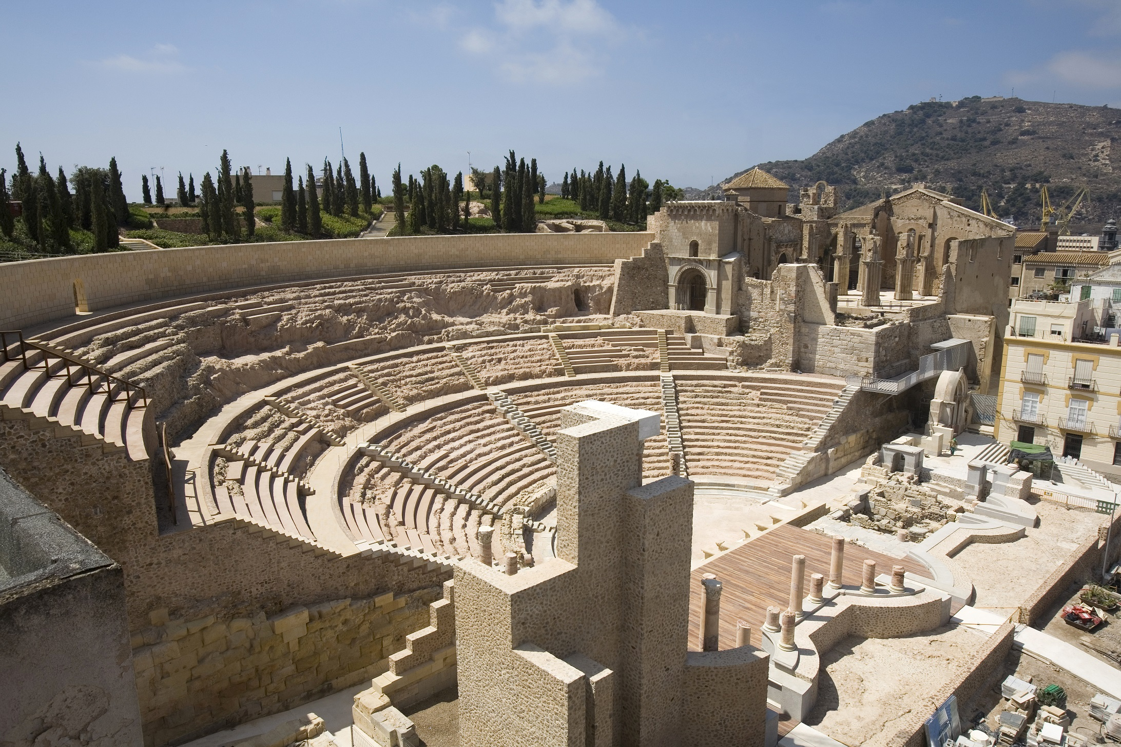 卡塔赫纳的罗马剧场