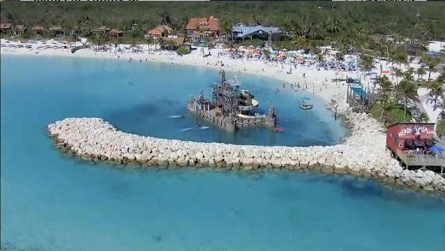 Les croisières avec Disney Cruise Line pour les Caraïbes incluent une jour entier sur l'île privée de Disney Cruise, Castaway Cay.