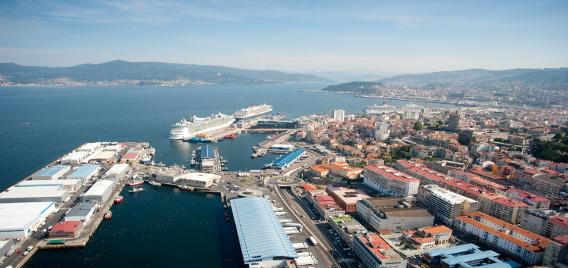 Enrique l pez veiga presidente puerto de vigo - Puerto de vigo cruceros ...