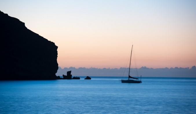 puerto-cruceros-gran-tarajal-bahía-anochecer