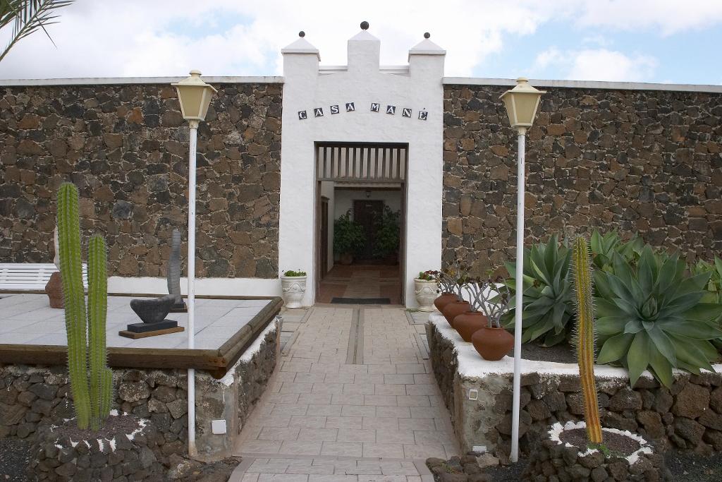 Casa Mané, uno de los recursos culturales para visitar durante la escala de cruceros en el Puerto de Corralejo. Foto Patronato de Turismo de Fuerteventura.