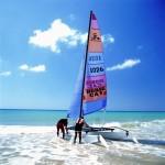 Los deportes náuticos forman parte de la oferta de ocio de hacer escala de crucero en Gran Tarajal. Foto Patronato de Turismo de Fuerteventura.