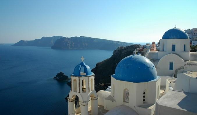 Imagen de islas griegas en un crucero de Variety Cruises