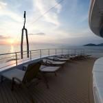 puente del barco voyager de Variety Cruises