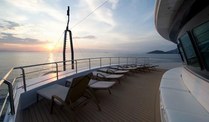 Imagen del puente del barco voyager de Variety Cruises