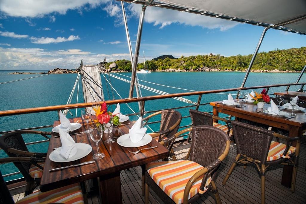 El itinerario en crucero por las Islas Seychelles de Variety Cruises ha sido calificado por The Times como uno de los 10 mejores viajes en pequeños barcos. Foto Variety Cruises.