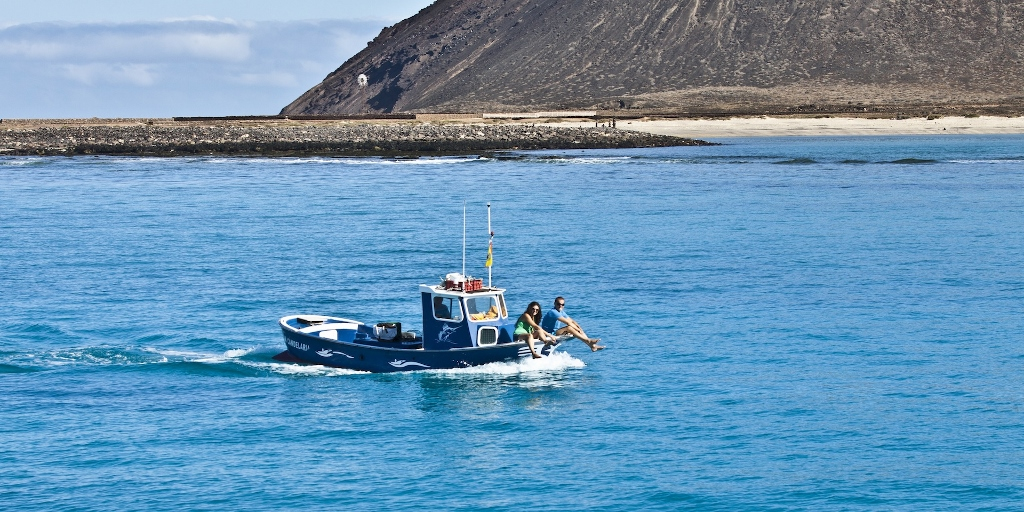 Fuerteventura esconde lugares tan especiales como la Isla de los Lobos. Foto Patronato de Turismo de Fuerteventura.