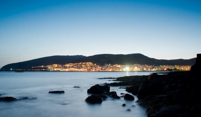 puerto-cruceros-gran-tarajal-bahia-de-noche